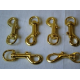 Brass Gold Flag Clips