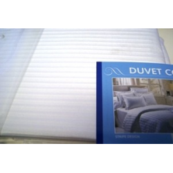 Duvet Cover Stripe Pattern, King Size