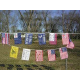 """Early American 12""""x18"""" String Bunting"""