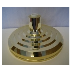 Indoor Flagpole base, Gold