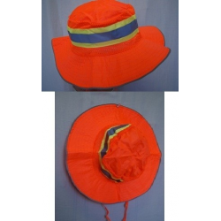 Reflective Boonie Hat, Orange